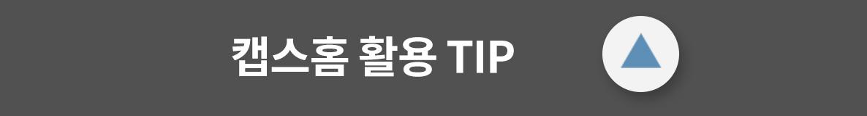 타이틀-캡스홈 활용 TIP